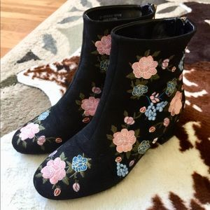 Stunning embroidered boots